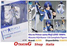Uta no Prince-sama Maji LOVE 1000% - Masato Hijirikawa 1/8 Complete Figure! IN PRONTA CONSEGNA, per info e per acquistarla clicca qui--> https://www.facebook.com/otakingshopitalia/photos/a.728888637241288.1073741848.643117879151698/872155139581303/?type=3&theater Consegna gratuita a mano su ROMA o spedizioni tracciate in tutta Italia!