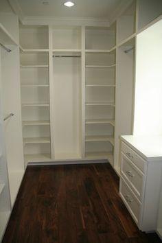 Small Walk-In Closet Ideas | Small Walk In Closet Design Ideas ...