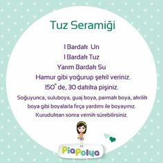 tuz seramiği - Hobbies paining body for kids and adult 3 Year Old Activities, Kindergarten Activities, Educational Activities, Learning Activities, Preschool Activities, Clay Crafts For Kids, Diy For Kids, Play Based Learning, Learning Through Play