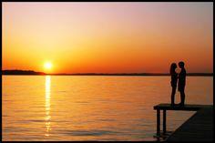 Sunset kissses