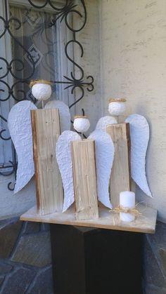 Angeli in legno