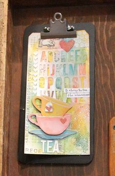 New Tim Holtz Tea Time from Sizzix - Scrapbook.com