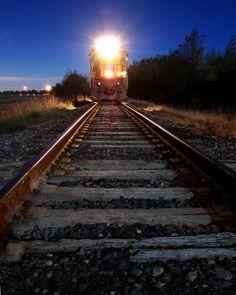 train photography | Here are a few train shots taken 12/22/07: