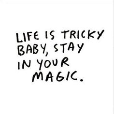stay in your magic⭐️✨💫🌟