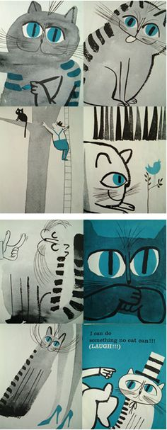 A fresh look at cats by Abner Graboff