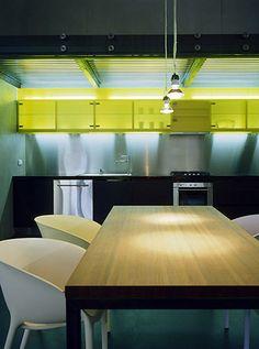 interior modern kitchen Loft in Old Prague
