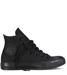 596bdbfa46f0 Converse Chuck Taylor All Star Core Hi Classic Black Converse Shoes