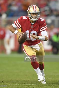 84d6cece7 News Photo   Jimmy Garoppolo of the San Francisco 49ers... Sf Niners