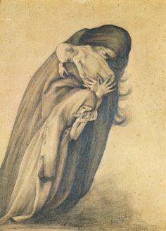 Le Prince Lointain: George Minne (1865-1941),Treurende Moeder.