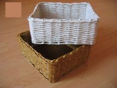 Korb aus Zeitungspapier flechten-dekoking-2