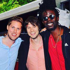Met Kenny B op de Buma NL awards