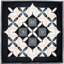 Afbeeldingsresultaat voor zwart wit quilts