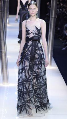 Giorgio Armani Prive Haute Couture Spring/Summer 2015 via @stylelist