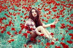 Was für Farben - ein toller Start in einen weiteren sonnigen Tag (Into the Wild Red 1 by MICHELA RIVA)!