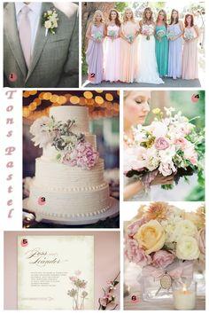 Use Tom Pastel no seu Casamento