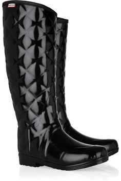 Love these hunter boots