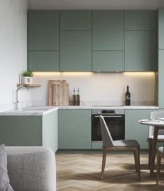 Galley Kitchen Design, Galley Kitchen Remodel, Small Space Kitchen, Modern Kitchen Design, Kitchen Layout, Small Spaces, L Shape Kitchen, Kitchen Lighting Design, Modern Kitchen Interiors