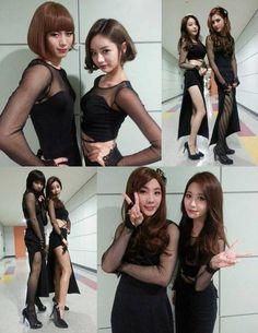Girls' Day with 'Boy's Day' - Hongbin (VIXX), Ren (NU'EST), Minhyuk (BTOB), Seung Jin(A-JAX) Music Core 2014.03.08