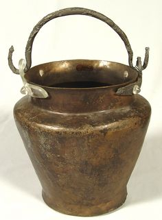 Bronze situal, imported item found on a Dacian site