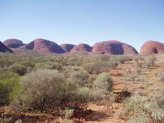Rock formations in Kata Tjuta.
