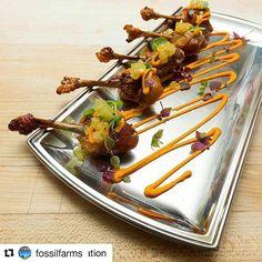 Repost @fossilfarms ・・・ Pekin duck confit lollipops  #food #foodporn #foodie #foodgasm #foodstagram #foodgram #instafood #foodpics #foodpic #gastronomia #gastronomy #gourmet #gastropost #gastroart #art #plating #finedining #luxury #delicious #yummy #instagood #culinary #igers #chef #finedining #dining #instahub #foodart #followme #comfit