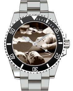 Poker Watch Kiesenberg  - Men Watch Jewelry Poker Chips Cards  Gift Present for Men- Watch 2005 von UHR63 auf Etsy
