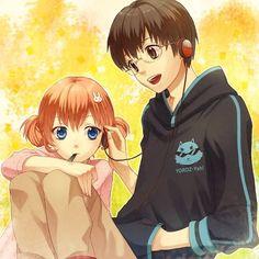 Kagura y Shinpachi