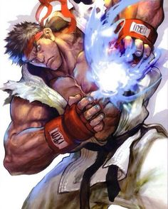 Street fighter is a sweet game Street Fighter Hadouken, Street Fighter Ryu, Street Fighter Characters, World Of Warriors, King Of Fighters, Cool Animations, Fighting Games, Video Game Art, Manga