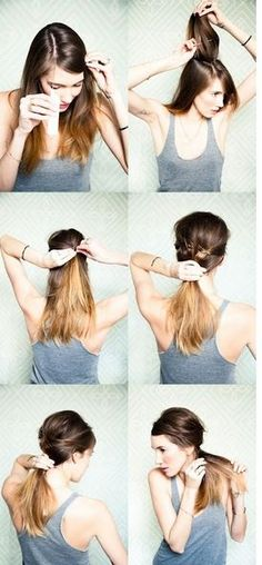 The Can-Do Updo, this page is full of cute hair updo ideas.