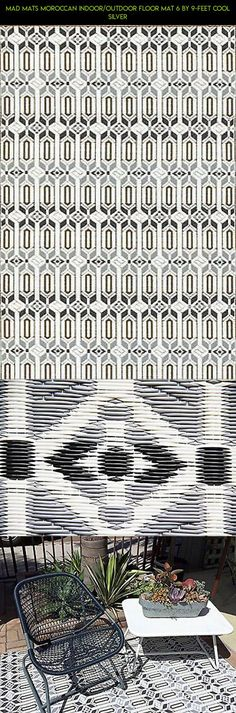 Mad Mats Moroccan Indoor/Outdoor Floor Mat 6 by 9-Feet Cool Silver #outdoor #tech #kit #plans #technology #mat #fpv #cooling #products #shopping #drone #camera #gadgets #parts #racing