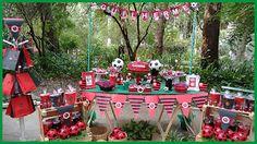 Decorações de Festas: Piquenique do flamengo