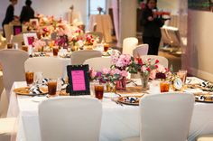Pink and sassy- Kate Spade inspired wedding at the Hyatt Regency Greenville by B & R Events