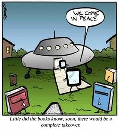 I am unconvinced, for nothing replaces having an actual book...