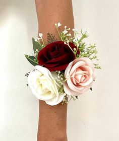 Burgundy And Blush Wedding, Burgundy Bouquet, Dusty Rose Wedding, Blush Wedding Flowers, Rose Wedding Bouquet, White Wedding Bouquets, Rose Bouquet, Mother Of The Bride Flowers, Wedding
