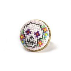 cross stitch ring