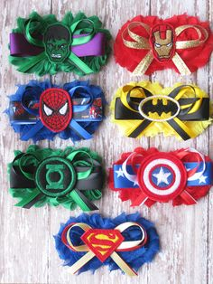 I KNOW OF someone (to remain nameless) very close to me that would absolutely love this!  Bridal Party Superhero Garter Set...Wedding Photo by GeekyGarters, $23.00
