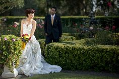 Disney's Beauty and the Beast Inspiration Wedding Shoot at the Valentino Estate | Estate Weddings and Events