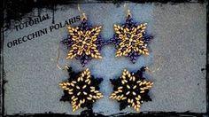 VALENTINA earrings - superduo star shape ~ Seed Bead Tutorials