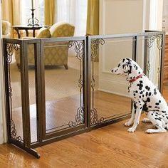 Pet Gate Frontgate Dog Gate : Indoor Safety Gates : Pet Supplies - Dog gates…