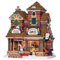 Make 2018 a year to remember with the latest Lemax holiday village collectables. Start a family Christmas tradition with Lemax Village Collection today! Village Lemax, Lemax Christmas Village, Santa's Village, Christmas Town, Christmas Villages, Christmas Carol, Christmas Crafts, Christmas Decorations, Christmas Items