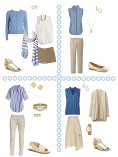 The Warm Summer Common Capsule Wardrobe + Water and Pearls - The Vivienne Files Summer Wardrobe, Capsule Wardrobe, Travel Wardrobe, Capsule Outfits, Wardrobe Ideas, Holiday Outfits, Summer Outfits, Holiday Clothes, Moda Femenina