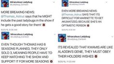 Well then if Adrien wants to know who Ladybug is, does Plagg know? If so then why has he not told Adrien. It needs to happen. They need to know!!!!!!!!!!!!!!