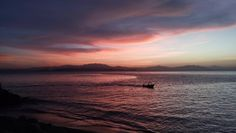 Sunset Puntarenas 2 (Mobile Phone Photo) - This sunset was also taken at Puntarenas. It is an unretouched photo taken using a LG mobile phone.