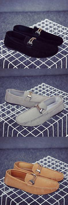 2017 Luxury Men Suede Horsebit Loafers Slip-on Gentlemen Moccasins Soft Flat Driving Loafers Boat Shoes Comfortable Easy