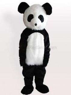 Long Plush Giant Panda Adult Mascot Costume - all the mascot costumes are global free shipping & Green Squirrel Plush Adult Mascot Costume - all the mascot costumes ...