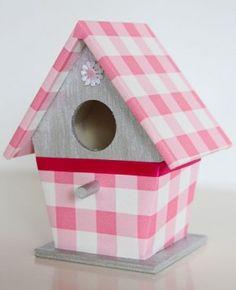 Lief vogelhuisje, gemaakt door Mijnkinderkamer.nl
