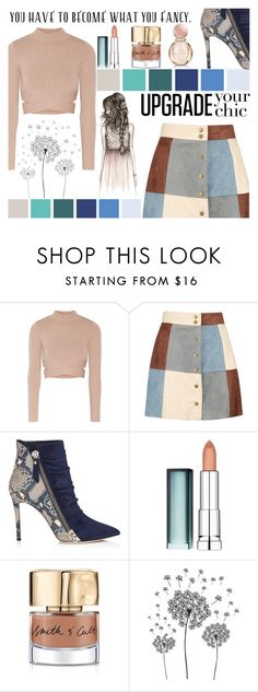 """#FancyTopSet"" by juromi ❤ liked on Polyvore featuring Jonathan Simkhai, Boohoo, Maybelline, Smith & Cult, jcp and Bulgari"