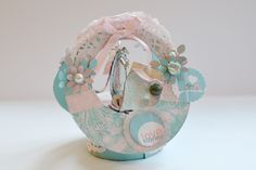 Love Stories - shabby chic card