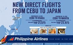 Travel News: Philippine Airlines Will Soon Fly from Cebu to Japan | Travel Philippines