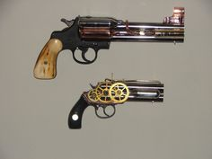 The Beast- Custom Steampunk Gun by jackscustomsteampunk on DeviantArt Steampunk Pistol, Steampunk Cosplay, Zombie Guns, Pink Guns, English Characters, Gun Art, Custom Guns, Dieselpunk, Victorian Era